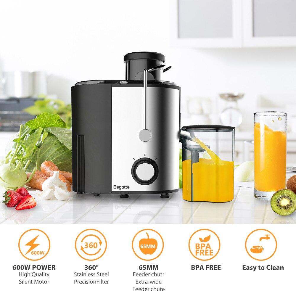 600w Edelstahl Entsafter Elektrische Gemüse Obst Trinken Maschine Für Home CE Multi-Funktion Entsafter Extractor Mixer # N