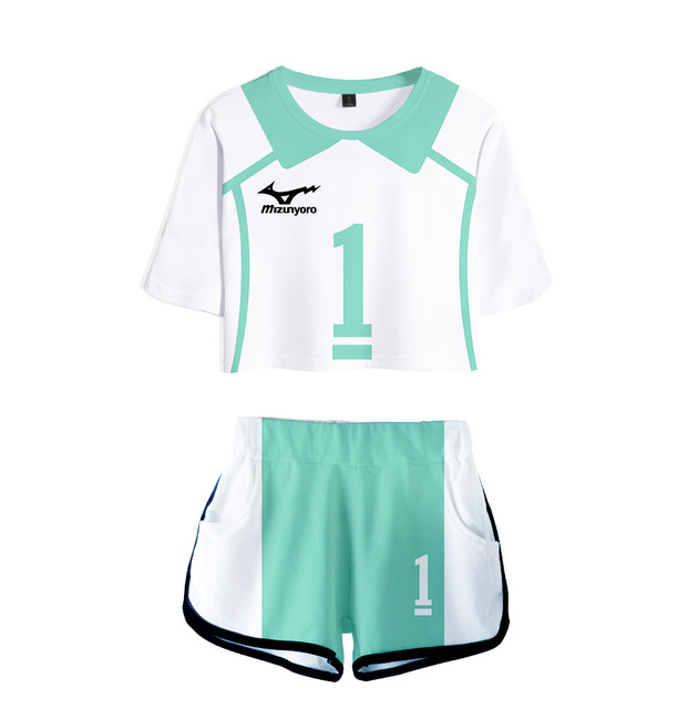 SET HAIKYUU!! CROP TOP & PANTS