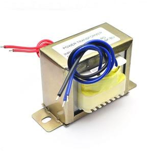 Image 4 - UNISIAN AC 18V 50Wอินพุตหม้อแปลงAC 110V 220Vเอาต์พุตคู่AC18Vหม้อแปลงไฟฟ้าสำหรับเครื่องขยายเสียงหรือTone Board