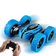 Rechargeable Remote Control Car Mini Double Sided Stunt Car