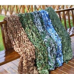 2x3m 2x4m 2x5m 3x3m 3x5m Hunting Military Camouflage Nets Woodland Army Camo netting Camping Sun ShelterTent Shade sun shelter(China)