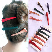 1 шт., новая мода, карамельный цвет, утконоса, зажим для волос уксусной кислоты, инструменты для укладки волос, заколка для волос
