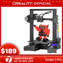 Creality 3d Ender-3 pro impressora máscaras de impressão placa de construção magnética retomar kit impressão falha de energia médio bem fonte alimentação