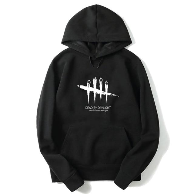 Autumn Men Fashion Sportswear Dead By Daylight Print Hoodies Boys Cotton Hooded Pullovers Unisex Harajuku Streetwear Sweatshirts 5