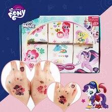 My Little Pony тату-наклейки Принцесса Эльза Анна Белль София мультфильм часы детские наклейки для девочек Детские игрушки для девочек ребенок