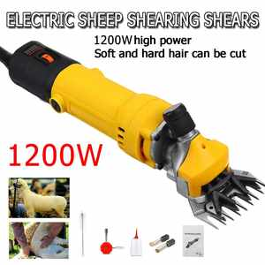 Scissor Shearing-Machine Clipper Farm Electric-Sheep-Goat Wool 1200W 6-Gears-Speed 110V/220V
