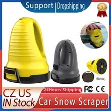 Car Ice Scraper Electric Heated Snow Removal Windshield Glass Defrost Clean Tools USB Auto Car Window Ice Scraper