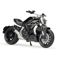 Bburago 1:18 Ducati XDiavel S Black SuperMotor Model Bikes Die cast Motorcycle