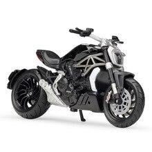 Bburago 1:18 Ducati XDiavel S черный супермотор модели велосипедов литой мотоцикл