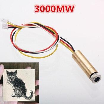 3000mw 4pin ttl/pwm control 445nm laser head replace kit for neje dk-8-kz dk-8-fkz dk-bl laser engraver