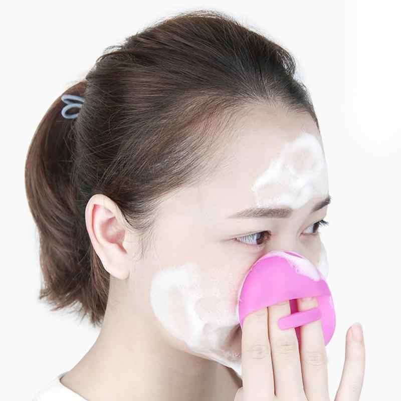 เด็กนวดล้าง Pad Face Exfoliating Blackhead Facial ทำความสะอาดซิลิโคนแปรงแชมพูอาบน้ำ Facial Cleanser ขายร้อน