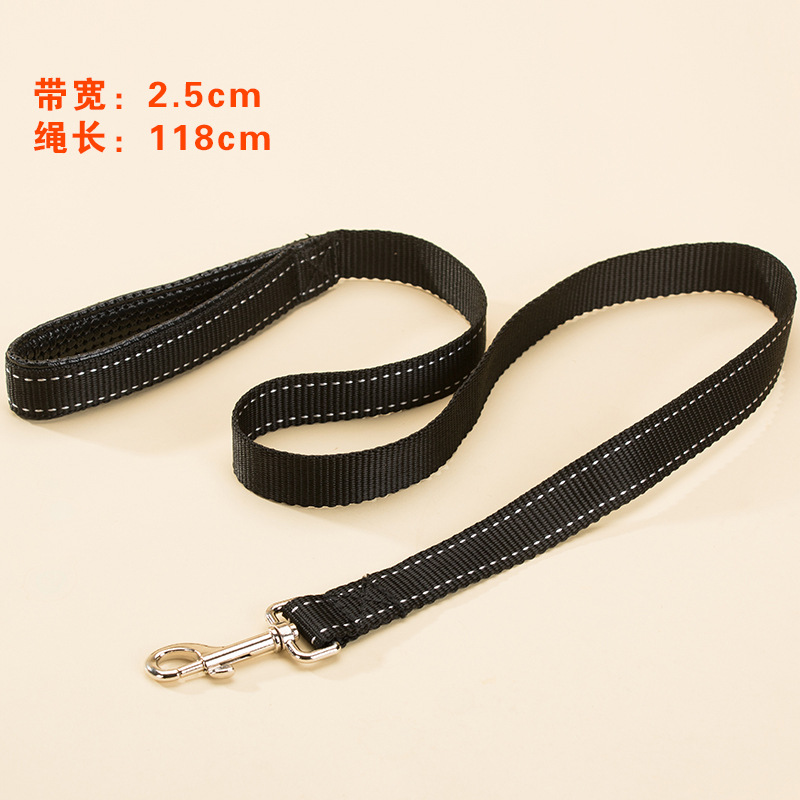 Big Dog Hand Holding Rope Large Dogs Satsuma Golden Retriever Medium-sized Dog Collocation Xiong Bei Tao Pet Vest Style Dog Rope