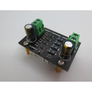 Image 1 - LT3045 четыре параллельные Ультра низкий уровень шума линейный Регулируемый Модуль питания Выход 5 В/9 В/12 В для преусилителя DAC