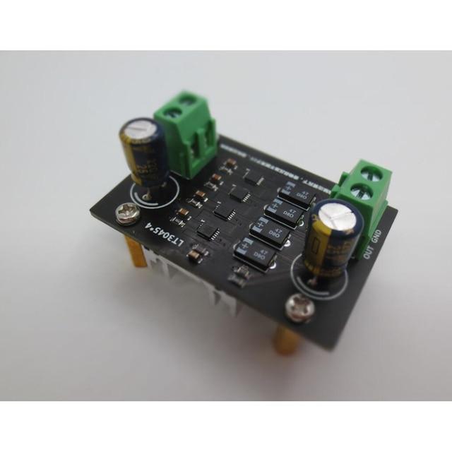 LT3045 четыре параллельные Ультра низкий уровень шума линейный Регулируемый Модуль питания Выход 5 В/9 В/12 В для преусилителя DAC