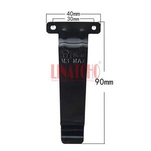 Image 5 - 10 adet demir kemer klipsi walkie talkie için el radyosu TK 2107 TK 3107 TK 480 TK 280 TK 380 BC20 TK 278 TK 378 TK 388 TK 278G