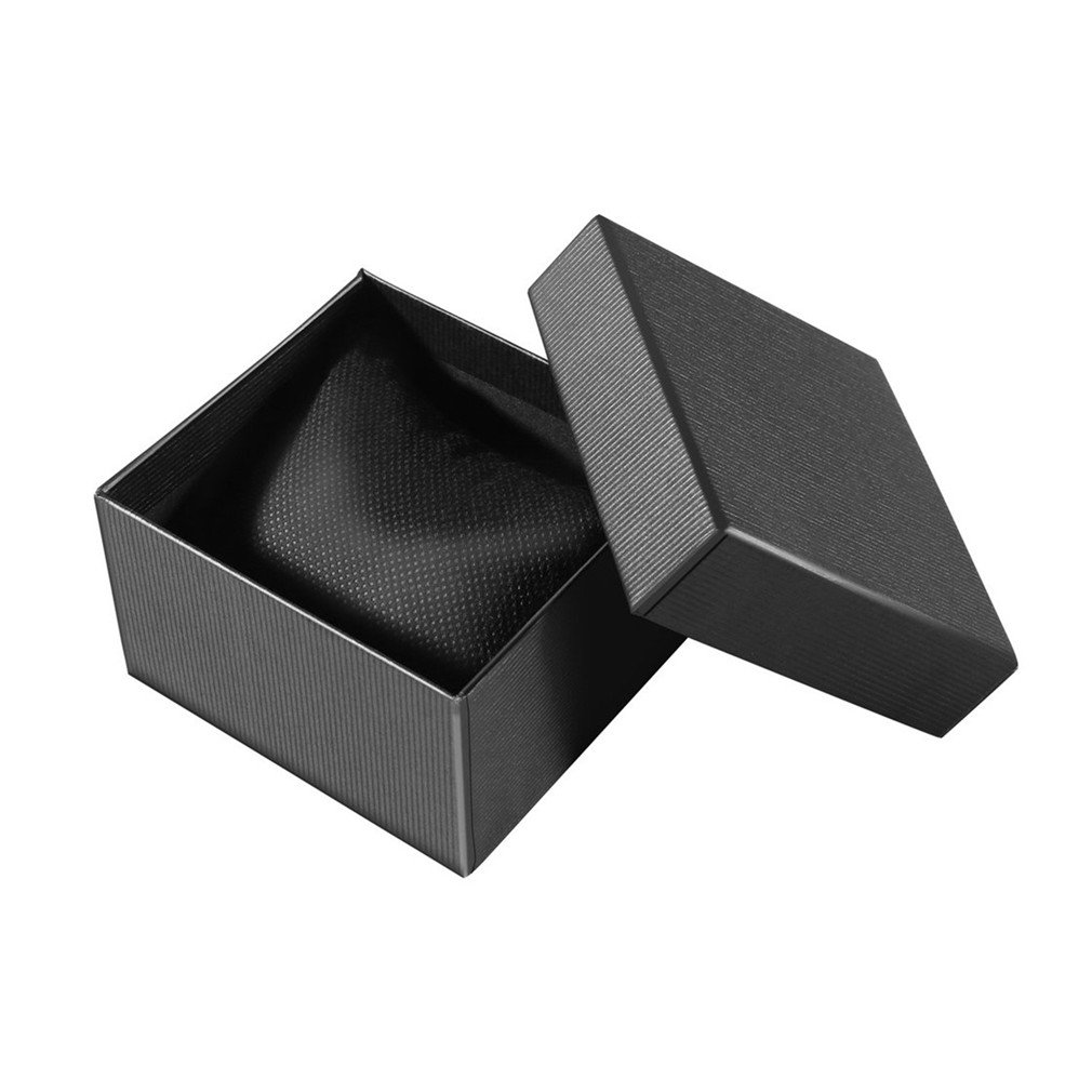 1Pcs Watch Storage Jewelry Storage Box Packing Boxsolid Color Box Neutral Paper / Jewelry Storage Box