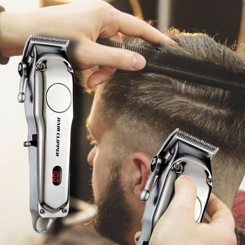 European Regulations Hair Trimmer Men's Electric All-in-one Hair Clipper With LCD Display Tondeuse Cheveux Cortadora De Pelo
