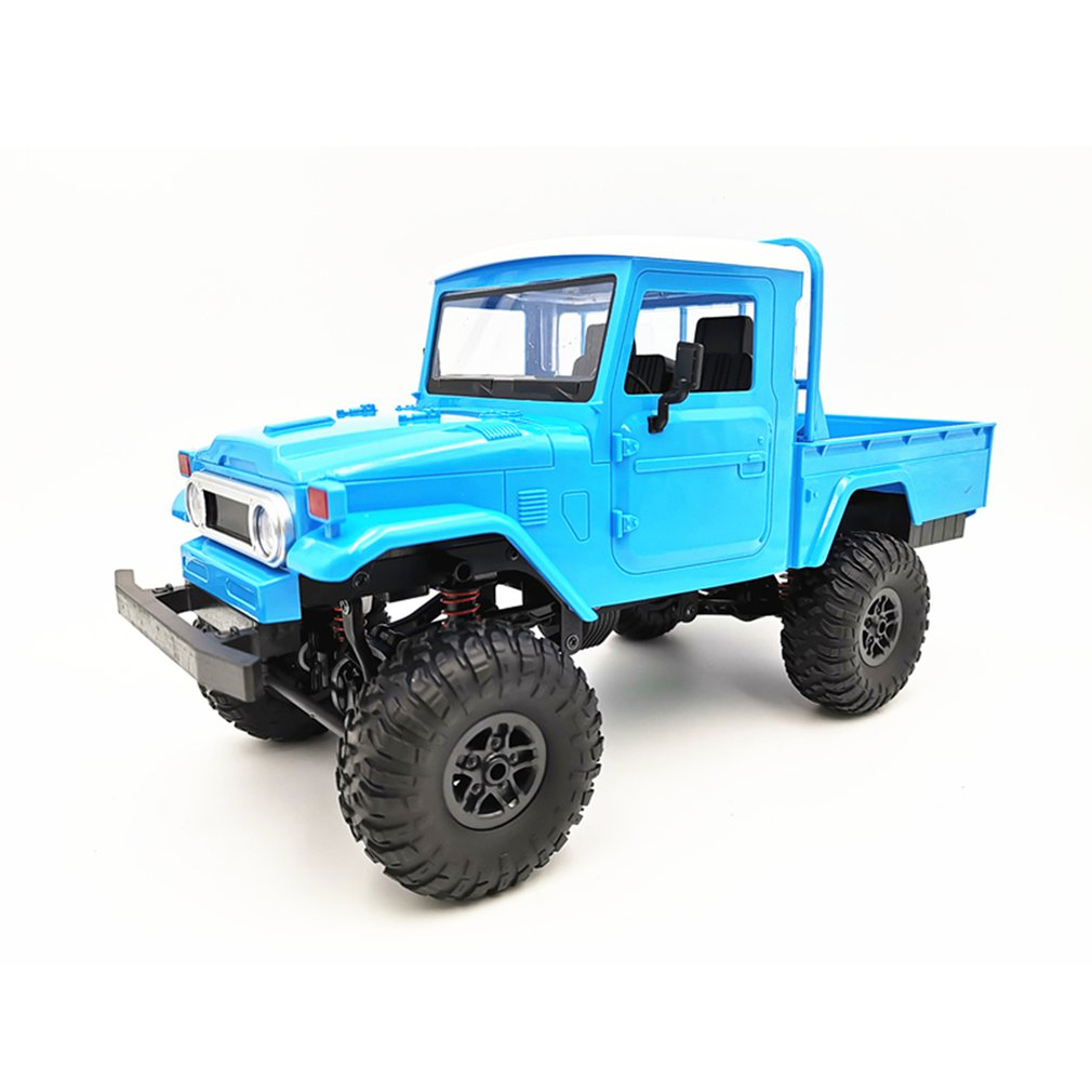 MN45 2.4G RC Car Crawler Off-road Car Buggy Moving Machine WPL MN RC Car 4WD Crawler Climbing Off-Road Truck FJ45 for Kids Gifts