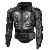 Motorcycle Armor Jacket Motocross Racing Moto Clothing Back Chest Shoulder Full Body Protector Protective Gear
