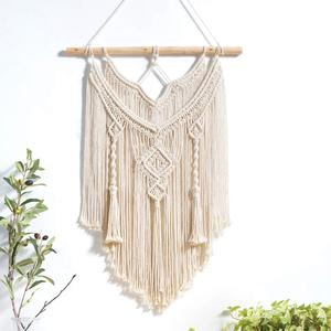 Wall-Tapestry Boho-Decor Macrame Hanging Woven Makrama Tapiz Tenture Tela Chic Pared