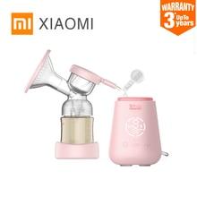 Xiaomi Rushan Electric Breast Pump With Milk Bottle Infant USB BPA free Powerful Baby Breast Feeding breast pump electric