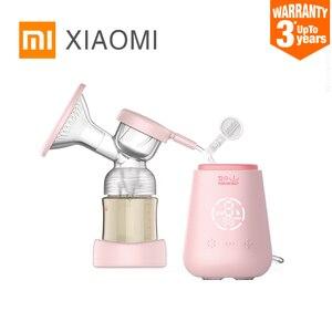 Image 1 - Xiaomi Rushan Elektrische Borstkolf Met Melk Fles Baby Usb Bpa Gratis Krachtige Baby Borstvoeding Borstkolf Elektrische