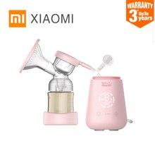 Xiaomi rushan bomba de mama elétrica com garrafa de leite infantil usb bpa livre poderoso bebê amamentação bomba elétrica