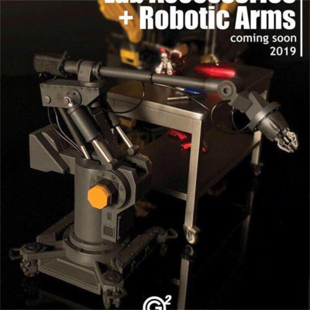 2Goodco 1/12 Collectible Iron Man Tony Lab Accessories+Robotic Arms Summer 2019 Platform