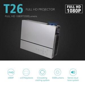 Image 5 - ThundeaL T26L T26 Full HD proyector no T26K nativo 1080P 5500 lúmenes Video LED Cine en Casa teatro K19 K20 M19 M20 TV 3D Beamer
