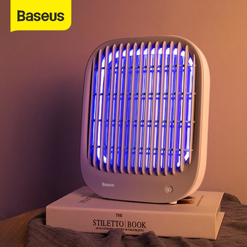 Baseus LED Mosquito Killer Lamp USB Electric Insect Killer Bug Zapper Double-sided Mosquito Trap Light For Bedroom Desktop