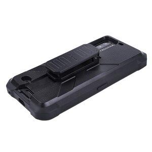 Image 5 - Multifuncional caso protetor para ulefone armadura 7 7e original tpu preto para ulefone armadura 7 7e com clipe de volta mosquetão
