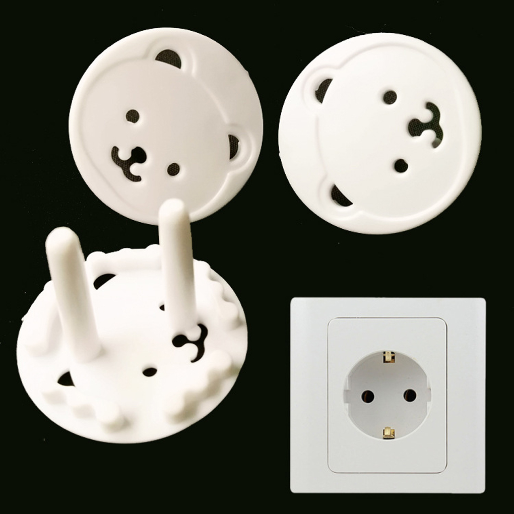 10pcs Baby Safety Products Baby Safety Socket Protective Cover Against Electric Shock