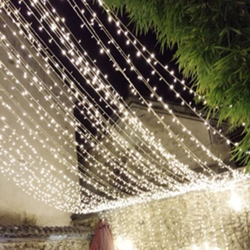 String Light 100LED 10M Christmas/Wedding/Party Decoration Lights Garland AC 110V 220V Outdoor Waterproof Led Lamp 9 Colors Led