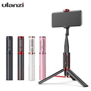 Беспроводная селфи-палка Ulanzi, Bluetooth, для IOS, iPhone11, Huawei, Android
