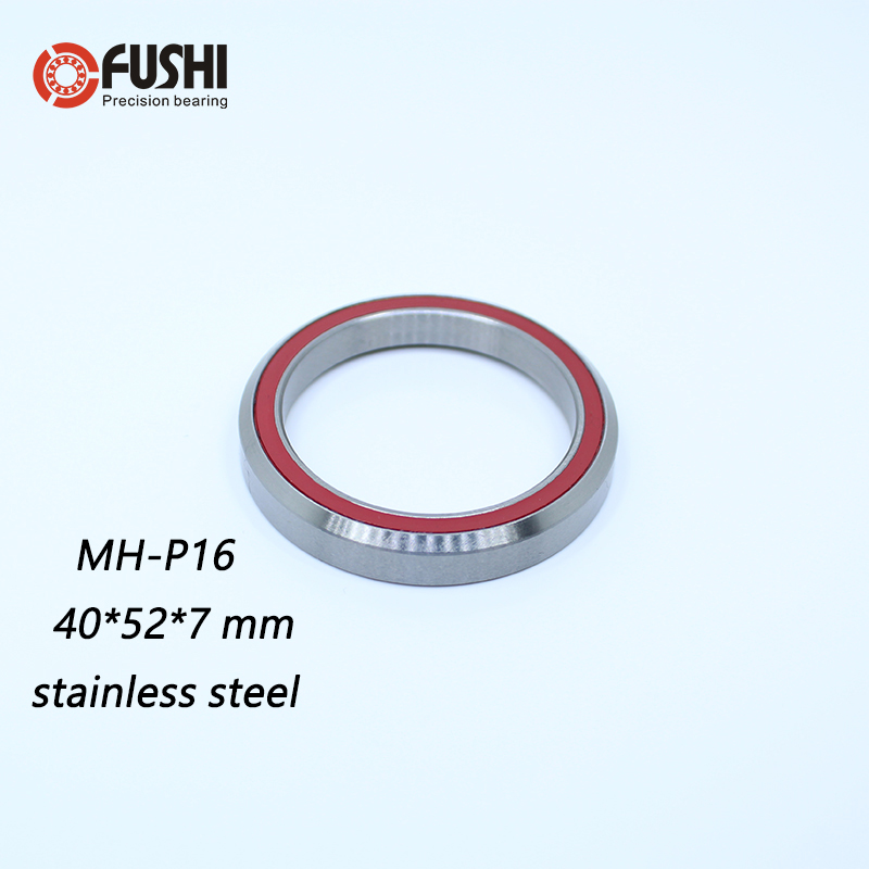 SMH-P16 Bearing 40*52*7mm 45/45 ( 1 PC ) MH-P16 Balls Bicycle 1-1/2 Inch Headset Repair Parts Stainless Steel Ball Bearings