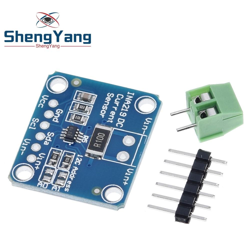 ShengYang ina222 I2C нулевой дрейф, двунаправленный Датчик питания, модуль контроля потока
