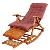 Klapp erwachsenen bambus stuhl schaukel stuhl haus kühlen stuhl bank glücklich holz stuhl
