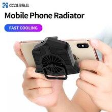 Coolreall телефон кулер регулируемый портативный вентилятор держатель теплоотвод для iPhone Xs Max Xs XR мобильный телефон радиатор для samsung huawei
