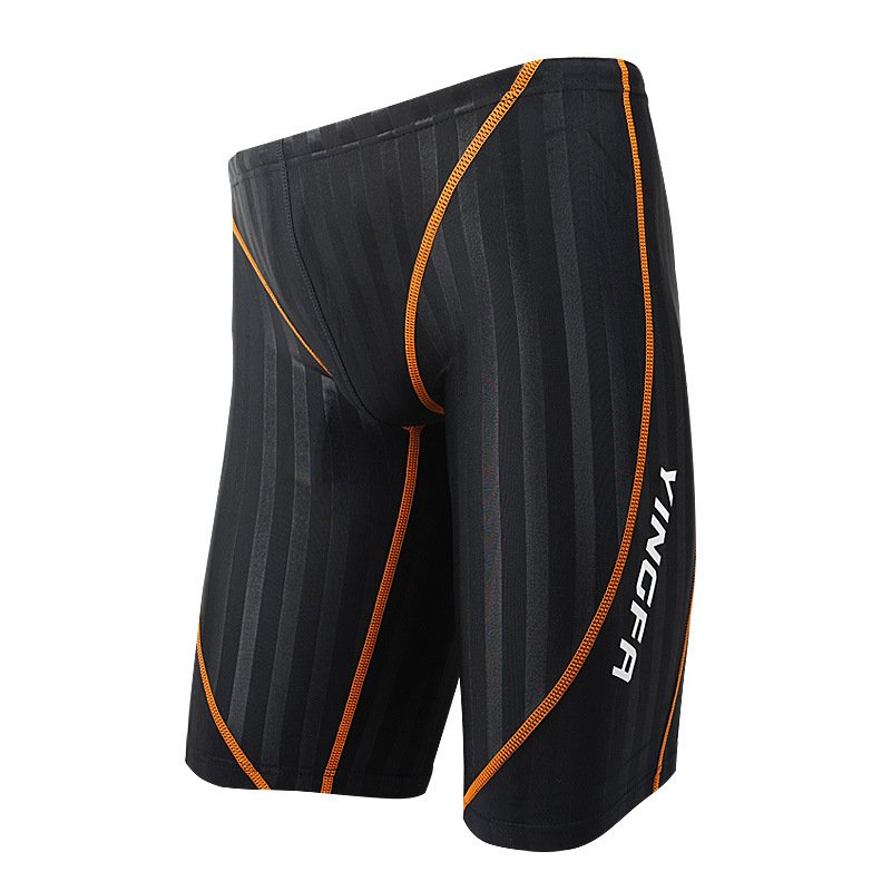 2018 Yingfa New Style Profession MEN'S Swimming Trunks Shorts Profession Sports Racing Training With Double-Sided Waterproof