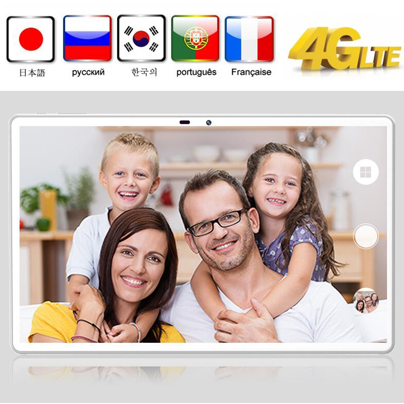 CARBAYTA Android 9.0 Tablet 11.6 Inch Touchscreen Tablet PC 10 Deco Core Processor 8GB RAM 128GB ROM 4G Phone Call 13MP Cameral