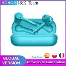 Honor Magic Earbuds Tws Oortelefoon Global Versie Actieve Ruisonderdrukking Draadloze Hoofdtelefoon Bluetooth 5.0 Hoofdtelefoon