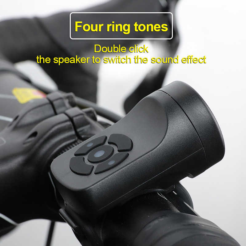 Mountain Bike Electronic Bike Ring Bell Cycling Accessories Riding Horn Bicycle