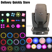 Beam Wash Spot 3 IN 1 350W Moving Head Light Stage DJ Light Disco 2pcs Gobo Wheel Use For Party Stage Perferman Night Club KTV professional american dj stage light cree 10w led pocket moving head spot lcd display rotating color gobo wheel manual focus