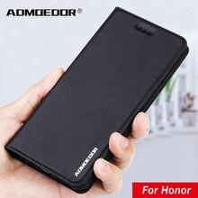 Huawei Honor 8x 8c 8 7a 8a премьер-8s 10i 20e 30i 30s 10 20 30 Pro в стиле 20-х г 9x Премиум 9a 9c 9s 9 Lite кожаный чехол с откидной крышкой для задней панели Чехол