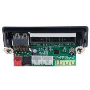 Image 2 - Tarjeta Wav con Bluetooth 5,0, Mp3 Wma descodificador, 5V, 12V, módulo de Audio inalámbrico, pantalla a Color, Usb, Tf, Radio Fm, para accesorios de coche