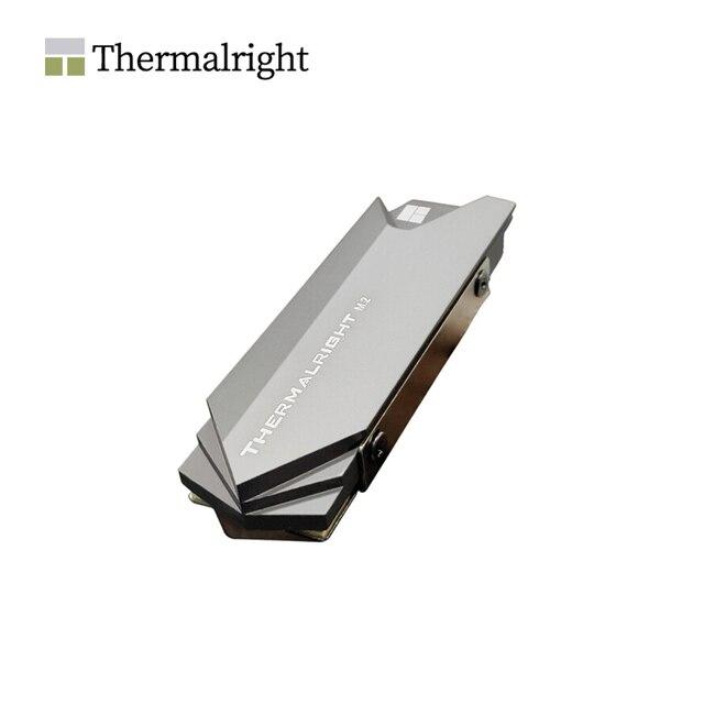 Thermalright Kühlkörper Aluminium M.2 Kühlung Kühler Für M.2 2280 SSD Festplatte Disk RÜSTUNG, TR M.2 2280 auf