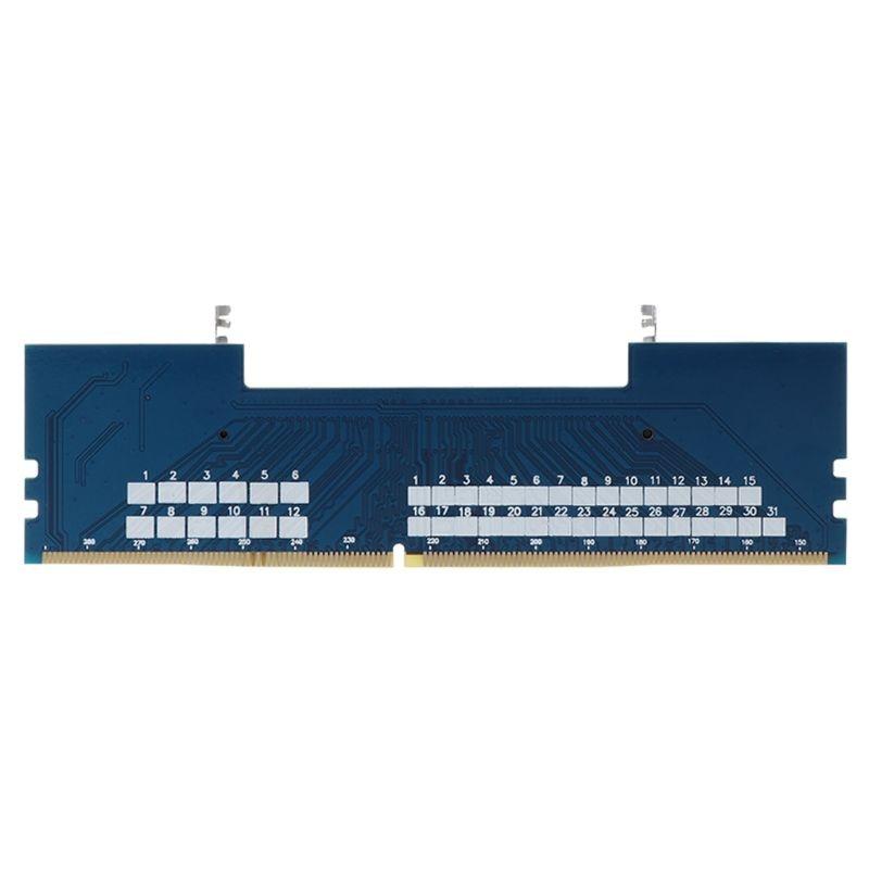 Professional Laptop DDR4 SO-DIMM To Desktop DIMM Memory RAM Connector Adapter Desktop PC Memory Cards Converter Adaptor E65A