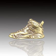 Creative Pure Brass, Small Air Force No.1 Sneaker Pendant / Key Chain Pendant, Exquisite Handicrafts and Trinkets