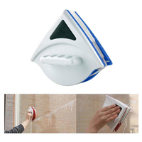 Double Side Magnetic Window Cleaner Brush for Washing Windows Glass Cleaning Household Wash Window Wiper|Magnetic Window Cleaners|Home & Garden -