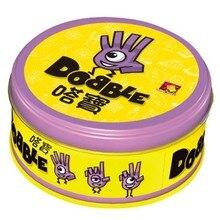 Заметьте это и dobble карточная игра настольная игра для Dobbles дети пятна карты он идет Кемпинг Металлическая жестяная коробка игрушки